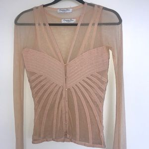 Dior Tops - Christian Dior Top and Cardigan